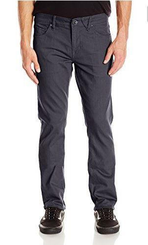 twill charcoal pants