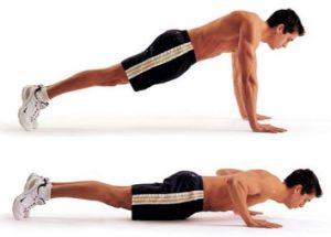 midified pushups 21