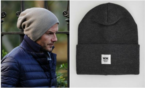 hats and Beckham