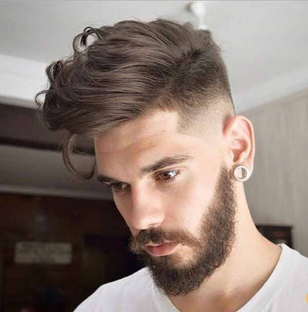 high fade with longer top