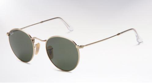 38341a6ccd Ακόμα ένα γυαλί που θυμίζει τον John Lennon είναι αυτά τα κλασικά γυαλιά  ηλίου της Ray-Ban