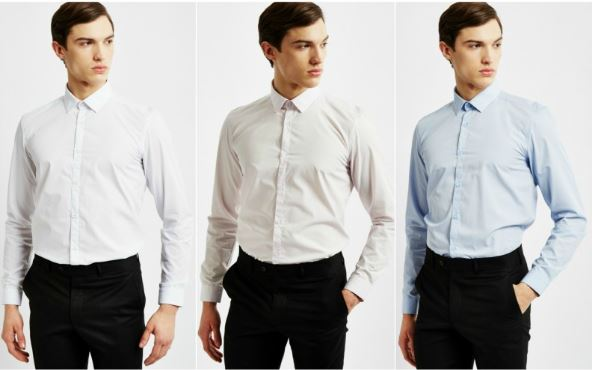 dress shirt colours