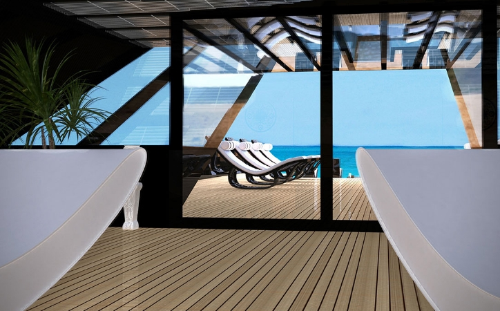katastroma black swan super yacht