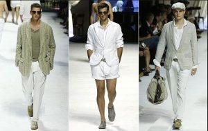 men outfits white