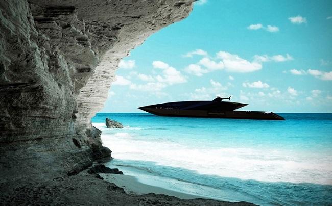 stealth aorato yacht