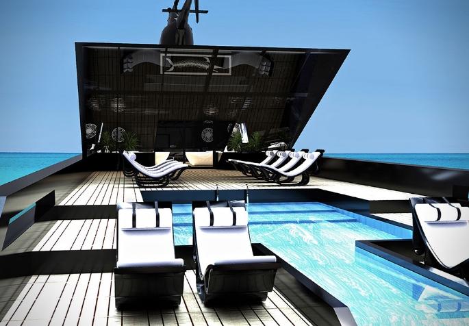 super yacht katastroma pisina