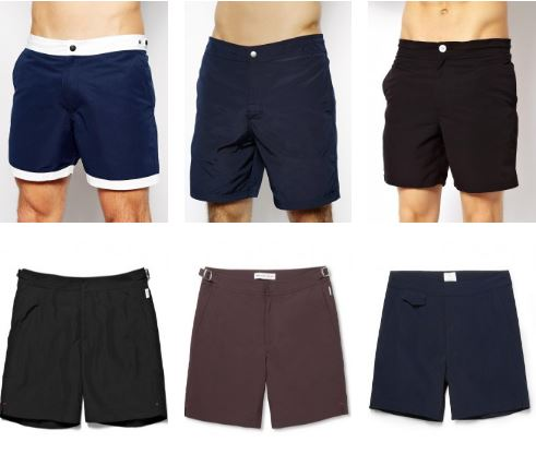 neutral swimming shorts