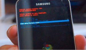 recovery mode android kinita
