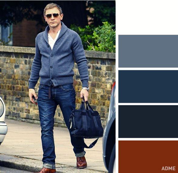 Χρωματικοί συνδυασμοί για καθημερινό ντύσιμο. casual look colour  combinations b30eb3cbb11