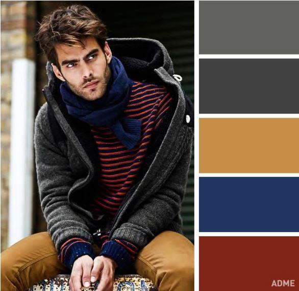14 Χρωματικοί συνδυασμοί μόνο για άντρες! - Web Korinthos 9b725146a9f