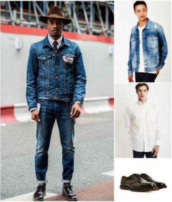 smart-casual-style-denim-jacket