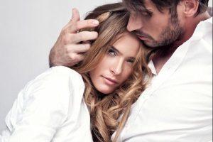 hair-touching