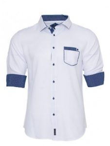 white-blue-mens-shirt