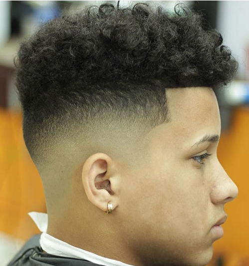 bald-fade-long-curls