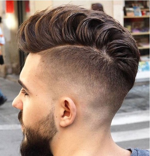 high-fade-and-pompadour