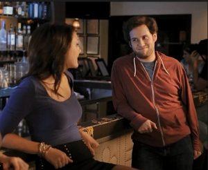 flirt in bar