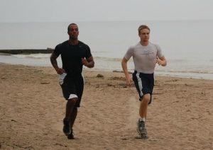 jogging sth paralia