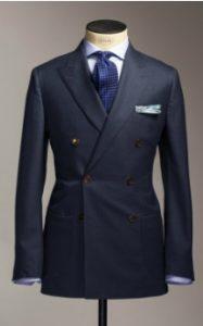 blue shirt-blue tie