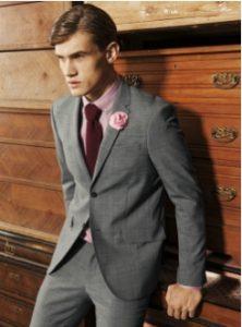 kokkini gravata-roz poukamiso