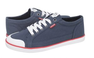mple navy casual papoutsia