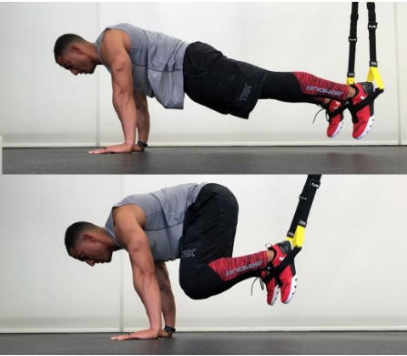 TRX push up