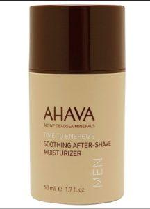 ahava after-shave moisturizer