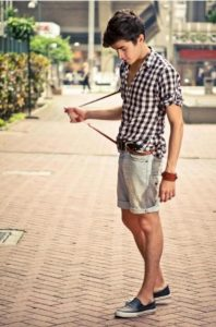 denim shorts karo poukamiso