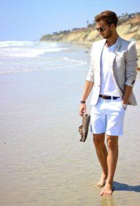 lefko shorts blazer