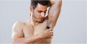 armpit shaving