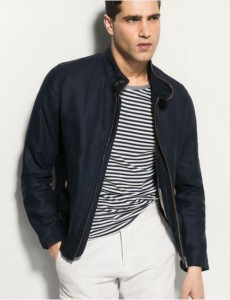 lino navy jacket