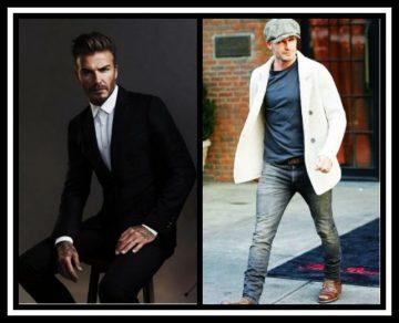 David Beckham style