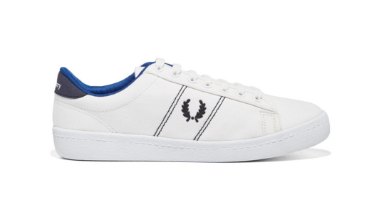 fred perry papoutsia aspro mple the-man.gr