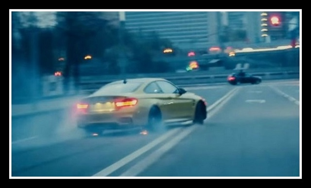 bmw m4 drift mosxa