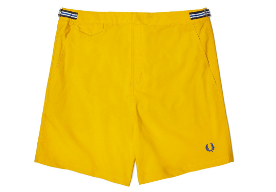 fred perry magio kitrino the-man.gr