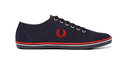 fred perry papoutsia mple kokkino the-man.gr