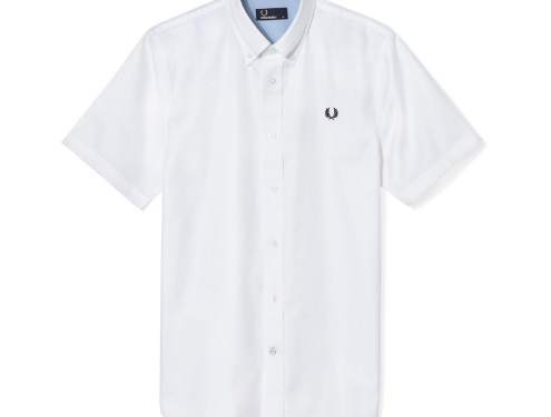 fred perry poukamiso aspro the-man.gr