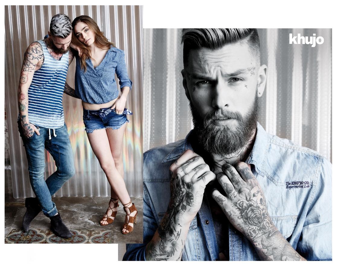18aa72d6811 Ανδρικά ρούχα Khujo μόνο για στυλάτους άνδρες! | The-Man.gr