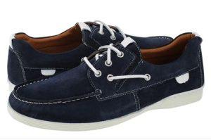 boat shoes blue