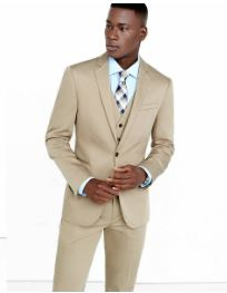 khaki suit jacket