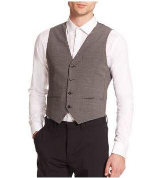 tailored vest
