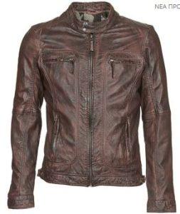 oakwood brown leather