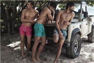 tanned men