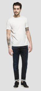 back print T-shirt replay