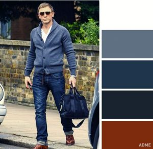 casual look colour combinations