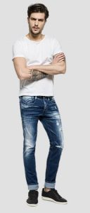 slim fit jeans replay