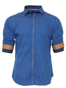 blue-mens-shirt
