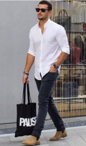 chelsea-boots-and-shirt