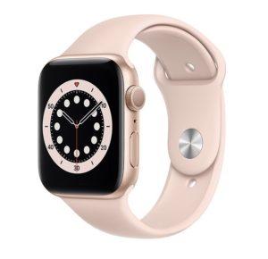 APPLE Watch Series 6 44mm Gold Pink Sportband
