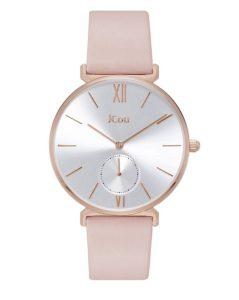 JCou ρολόι Grace Pink Leather
