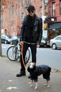 biker-jacket-neck-sweater-crew-neck-t-shirt-jeans-boots-baseball-cap-scarf